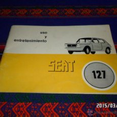 Coches y Motocicletas: SEAT 127 USO Y ENTRETENIMIENTO PRIMERA EDICIÓN 1976. MUY BUEN ESTADO.. Lote 48534092