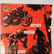 Coches y Motocicletas: ANTIGUO CATALOGO BULTACO CARRERA MONTAÑA CROSS. Lote 48644662