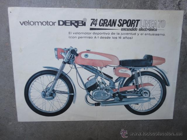 Catalogo tecnico original derbi 74 gran sport l comprar for Catalogo derbi