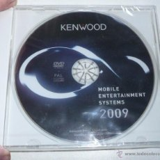 Coches y Motocicletas: DVD KENWOOD MOBILE ENTERTAINMENT SYSTEMS 2009. Lote 27117868
