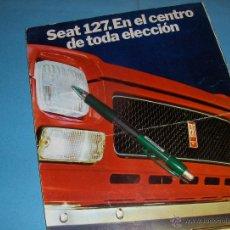 Coches y Motocicletas: CATALOGO DE SEAT 127.. Lote 185675841
