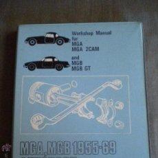 Coches y Motocicletas: LIBRO MANUAL COCHE MG .MEDIDA 25X19. Lote 49115460