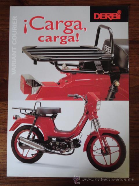 Folleto moto ciclomotor derbi variant courier 1 comprar for Catalogo derbi