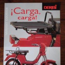 Coches y Motocicletas: FOLLETO MOTO CICLOMOTOR DERBI VARIANT COURIER 1997. Lote 49287950