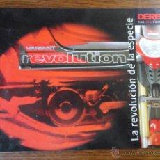 Coches y Motocicletas: FOLLETO MOTO CICLOMOTOR DERBI VARIANT REVOLUTION - GS 1999. Lote 49288218