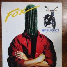 Coches y Motocicletas: FOLLETO MOTO PEUGEOT FOX. Lote 49289679