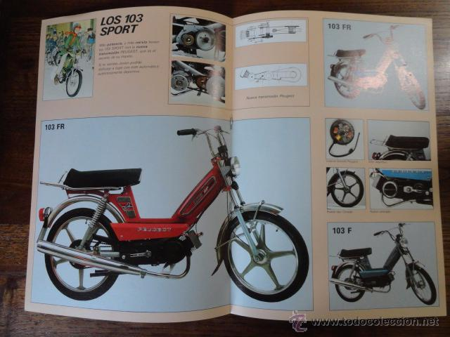 Coches y Motocicletas: FOLLETO CATALOGO MOTO PEUGEOT CICLOMOTORES 1981 - Foto 2 - 49290011