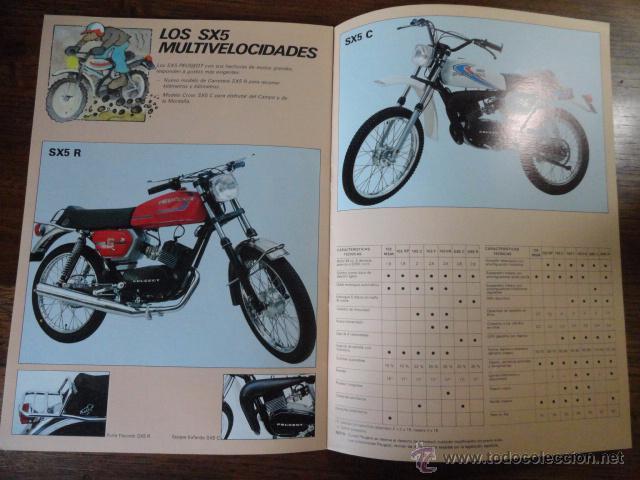 Coches y Motocicletas: FOLLETO CATALOGO MOTO PEUGEOT CICLOMOTORES 1981 - Foto 3 - 49290011