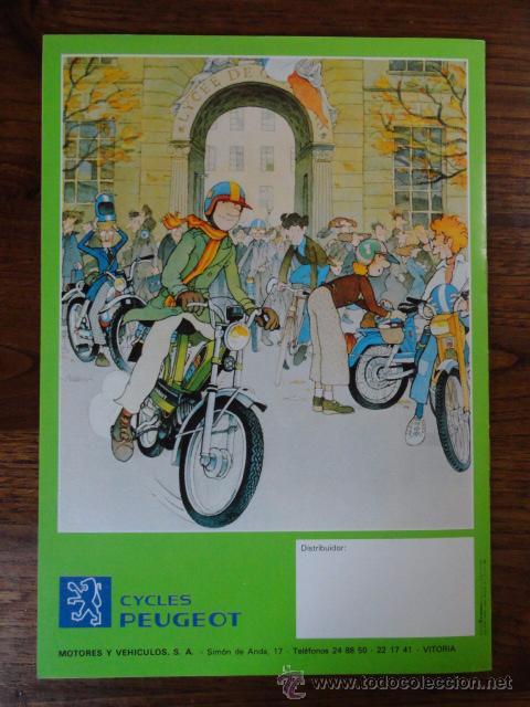 Coches y Motocicletas: FOLLETO CATALOGO MOTO PEUGEOT CICLOMOTORES 1981 - Foto 4 - 49290011