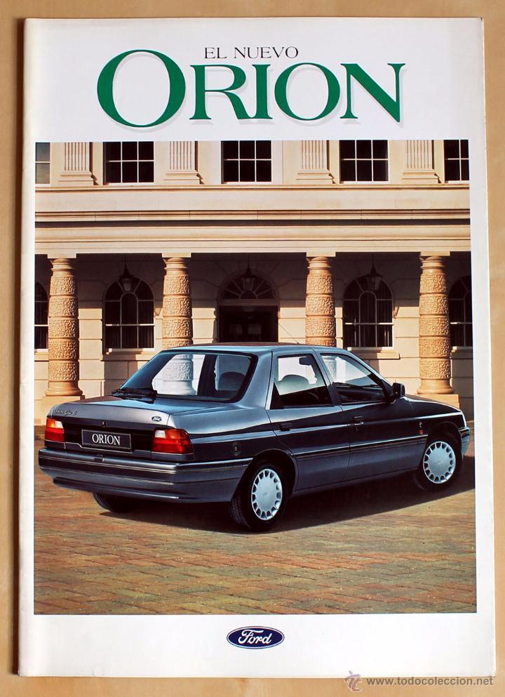 FORD ORION, CATALOGO PUBLICIDAD ORIGINAL (Coches y Motocicletas Antiguas y Clásicas - Catálogos, Publicidad y Libros de mecánica)