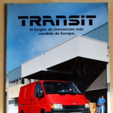 Coches y Motocicletas: FORD TRANSIT, CATALOGO PUBLICIDAD ORIGINAL. Lote 49316792