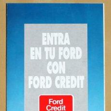 Coches y Motocicletas - FORD CREDIT, CATALOGO PUBLICIDAD ORIGINAL - 49316997