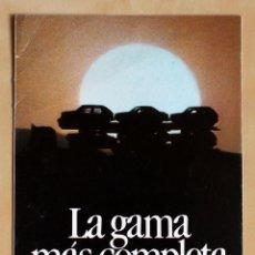 Coches y Motocicletas: SEAT TOLEDO PREMIUM, CATALOGO PUBLICIDAD ORIGINAL. Lote 49317740