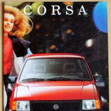 Coches y Motocicletas: OPEL CORSA CATALOGO PUBLICIDAD ORIGINAL. Lote 144098289