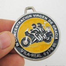 Coches y Motocicletas: CONCENTRACION MOTERA VIRGEN DE GRACIA VILA REAL VILLAREAL MOTOS 1986 MOTOCLUB MIJARES. Lote 49338712