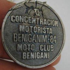Coches y Motocicletas: CONCENTRACION MOTO CLUB BENIGANIM VALENCIA 1984. Lote 49344936