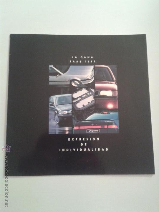 CATALOGO SAAB 9000 - LA GAMA 1995 - AÑO 1995 (Coches y Motocicletas Antiguas y Clásicas - Catálogos, Publicidad y Libros de mecánica)
