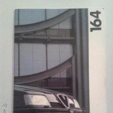 Coches y Motocicletas: ALFA ROMEO 164 - CATALOGO PUBLICIDAD ORIGINAL - 1995 - 19 PÁGINAS - ESPAÑOL. Lote 49435951