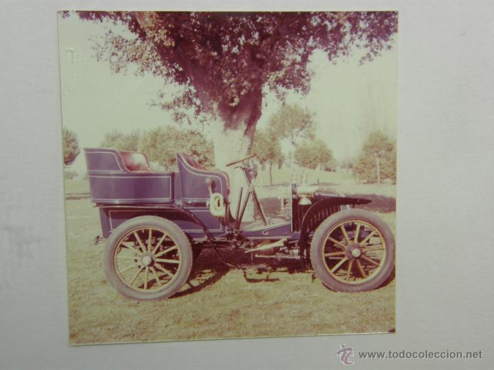Coches y Motocicletas: nueve fotos enmarcadas coche renault type G 8 HP matrícula M-182 años 60 34,5x34,5cms - Foto 4 - 49540721