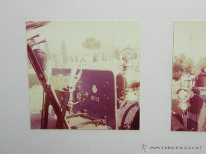 Coches y Motocicletas: nueve fotos enmarcadas coche renault type G 8 HP matrícula M-182 años 60 34,5x34,5cms - Foto 7 - 49540721