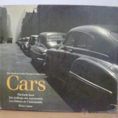 Coches y Motocicletas: LIBRO COCHES ANTIGUOS CARS THE EARLY YEARS AUTOMOVIL THE HUTTON GETTY PICTURE COLLECTION . Lote 49596619