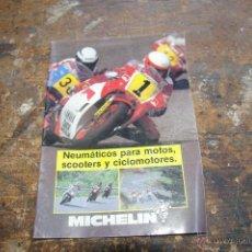Coches y Motocicletas: CATALOGO DE MICHELIN, MOTOS. Lote 49605697