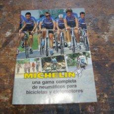 Coches y Motocicletas: CATALOGO DE MICHELIN, BICICLETAS. Lote 49605733