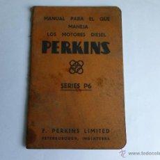 Coches y Motocicletas: MANUAL PERKINS. Lote 49637584