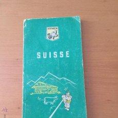 Coches y Motocicletas: MICHELIN GUIA DE SUIZA 1964-1965. Lote 49666428