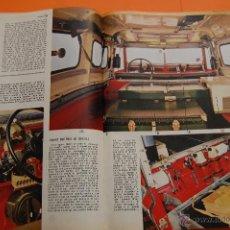 Coches y Motocicletas: ARTICULO 1968 - LAND ROVER 109 - 5 PAGINAS. Lote 49712423