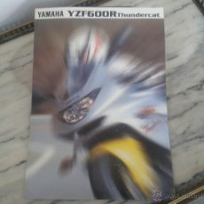Coches y Motocicletas: FOLLETO CATALOGO YAMAHA YZF 600 R THUNDERCAT. Lote 49743798