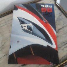 Coches y Motocicletas - CATALOGO GAMA COMPLETA YAMAHA 1998 - 49743872