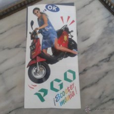 Coches y Motocicletas: CATALOGO PGO COMET PGO BIG MAX Y PGO GALAXY. Lote 49743990