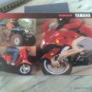 Coches y Motocicletas: CATALOGO GAMA YAMAHA 1993 ESTADOS UNIDOS DIFICIL DE ENCONTRAR. Lote 49744030
