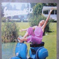 Coches y Motocicletas: CATALOGO TECNICO ORIGINAL VESPA 160 1968. Lote 98517803