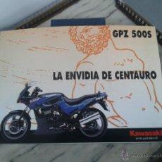 Coches y Motocicletas: FOLLETO CATALOGO KAWASAKI GPZ 500 S. Lote 49859047