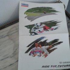 Coches y Motocicletas - CATALOGO GAMA YAMAHA 1993 - 12 PAGINAS TAMAÑO GIGANTE - - 49859562