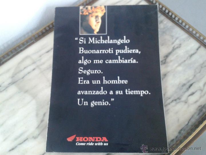 CATALOGO GAMA HONDA 1994 - DESPLEGABLE GRAN DIMENSION (Coches y Motocicletas Antiguas y Clásicas - Catálogos, Publicidad y Libros de mecánica)