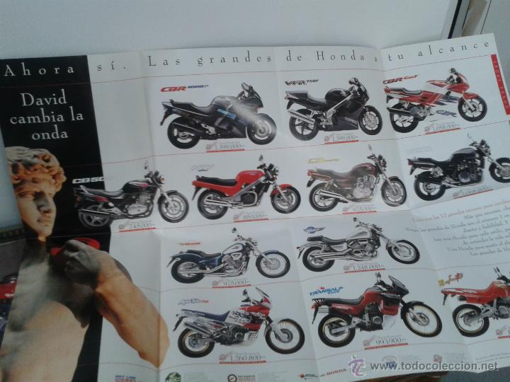 Coches y Motocicletas: CATALOGO GAMA HONDA 1994 - DESPLEGABLE GRAN DIMENSION - Foto 2 - 49859773