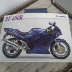 Coches y Motocicletas: FOLLETO CATALOGO SUZUKI RF 600 R. Lote 49861387
