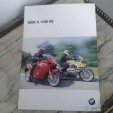 Coches y Motocicletas: FOLLETO CATALOGO BMW K 1200 RS. Lote 49861497
