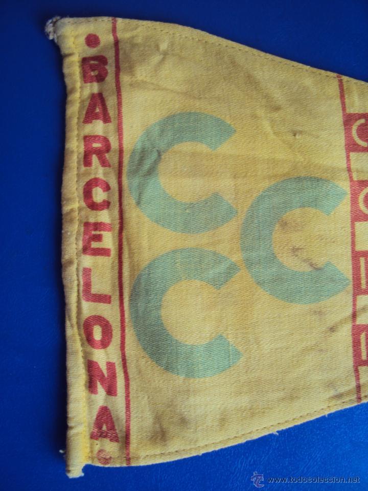 Coches y Motocicletas: (F-065)BANDERIN CAMPING CLUB DE CATALUNYA,IV RALLYE INT.1936(BCN)-C.C.CATALUNYA IV CONGRES CALDES M. - Foto 3 - 49870880