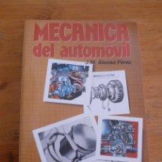Coches y Motocicletas: MECANICA DEL AUTOMOVIL. J.M. ALONSOPEREZ. ED. PARANINFO. 2001 384 PAG. Lote 49911360