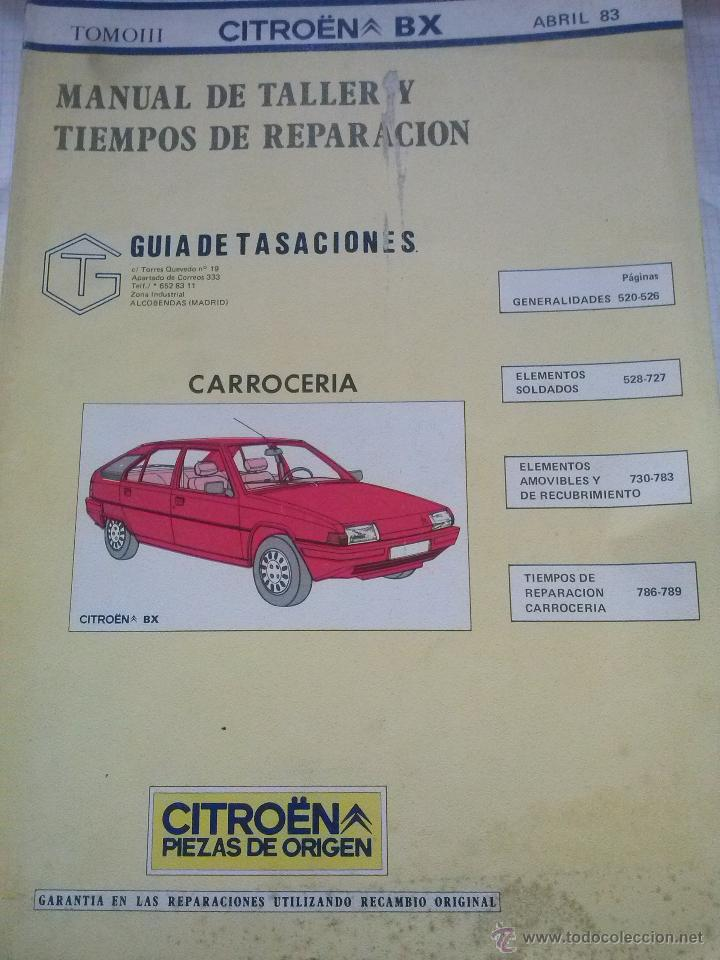 citroen bx manual de taller carrocer a guia d comprar cat logos rh todocoleccion net Citroen Berlingo Citroen Nemo