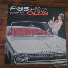 Coches y Motocicletas: CATALOGO COCHE OLDSMOBILE F-85 1961 GENERAL MOTORS CORPORATION. Lote 50097435
