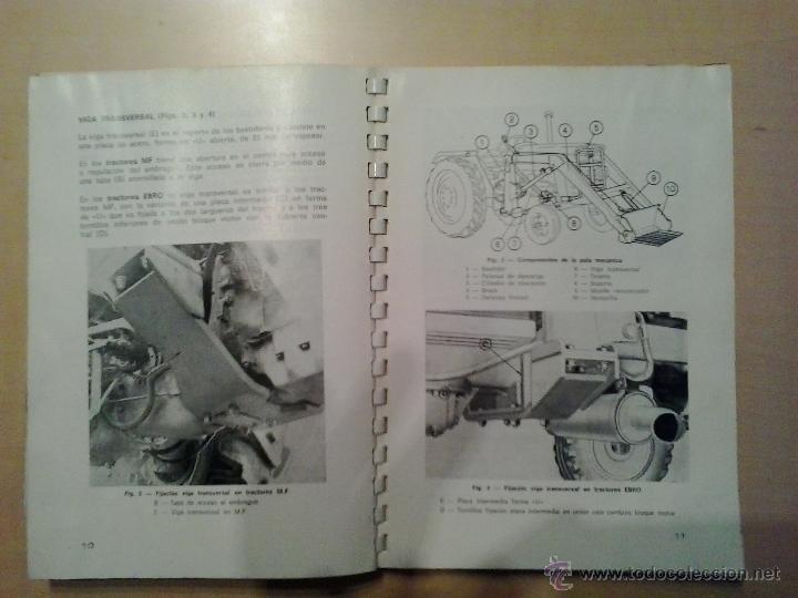 Coches y Motocicletas: MANUAL DE INSTRUCCIONES DE PALA AGRICOLA MASSEY FERGUSON MF-42 - Foto 2 - 50154909