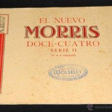 Coches y Motocicletas: CATALOGO MORRIS DOCE - CUATRO SERIE II EN ESPAÑOL. Lote 50216263