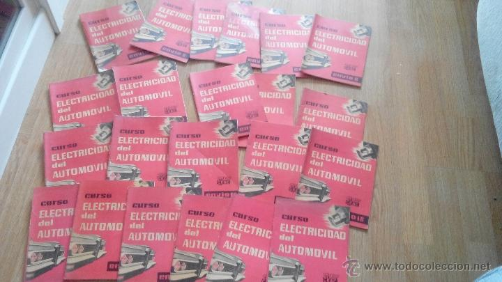 CURSO ELECTRICIDAD DEL AUTOMOVIL- CEAC (Coches y Motocicletas Antiguas y Clásicas - Catálogos, Publicidad y Libros de mecánica)
