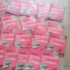 Coches y Motocicletas: CURSO ELECTRICIDAD DEL AUTOMOVIL- CEAC. Lote 50257107