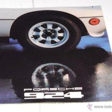Coches y Motocicletas: CATALOGO PORSCHE 924 AÑO 1977 EN INGLES. Lote 50268555